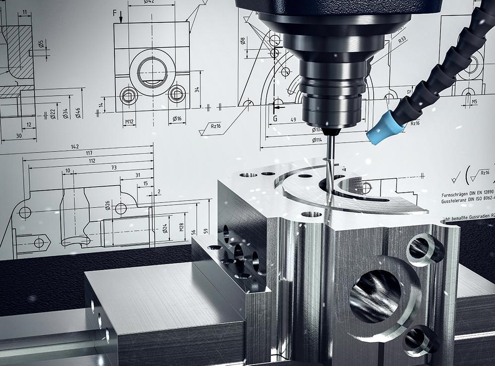 Hochpräzise CNC-Zerspanung bzw. spanende Verfahren